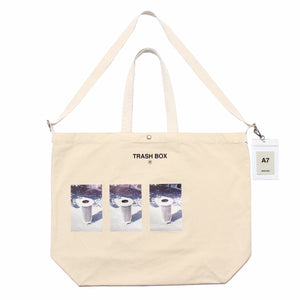 TRASH BOX / L (TOTE BAG)