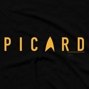 Star Trek: Picard Gold Delta Adult Short Sleeve T-Shirt