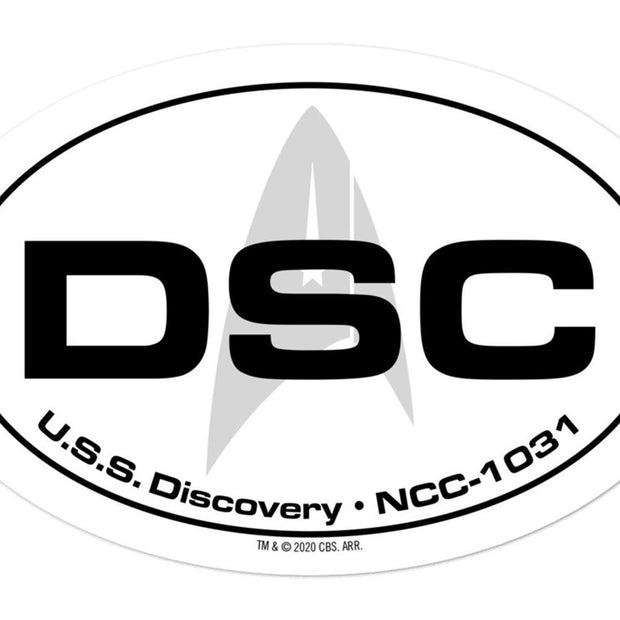 Star Trek: Discovery Location Die Cut Sticker