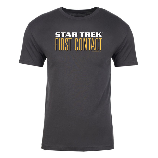 Star Trek VII: Generations Logo Adult Short Sleeve T-Shirt