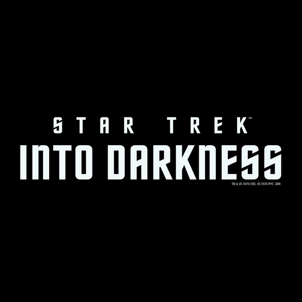 Star Trek XII: Into Darkness Logo Adult Short Sleeve T-Shirt