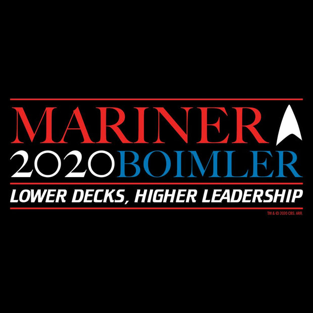 Star Trek: Lower Decks Mariner Bolmler 2020 Adult Short Sleeve T-Shirt