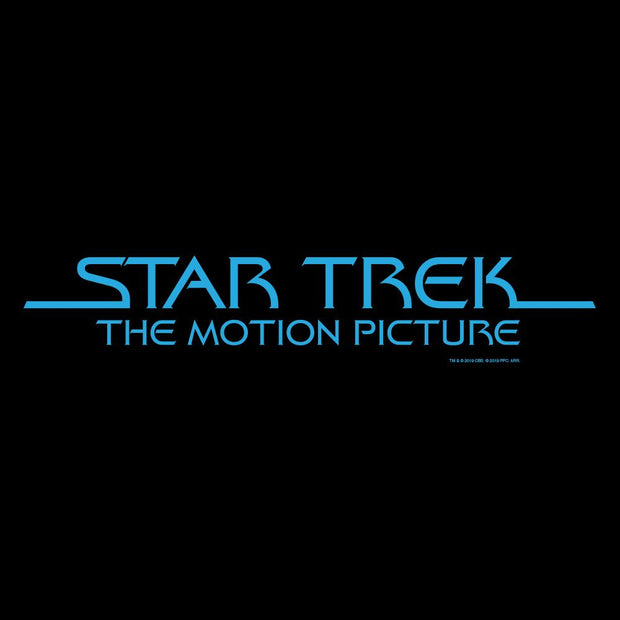 Star Trek: The Motion Picture Logo Adult Short Sleeve T-Shirt