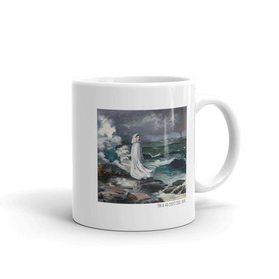Star Trek: Picard Daughter Painting By Data White Mug