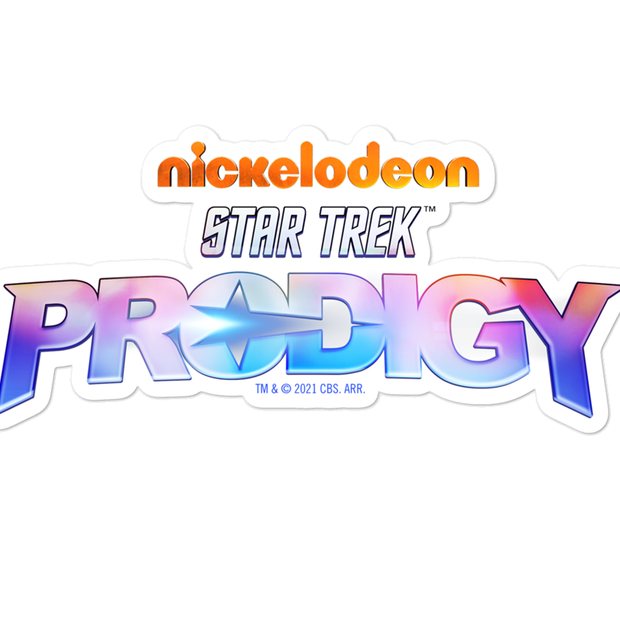 Star Trek: Prodigy Logo Die Cut Sticker
