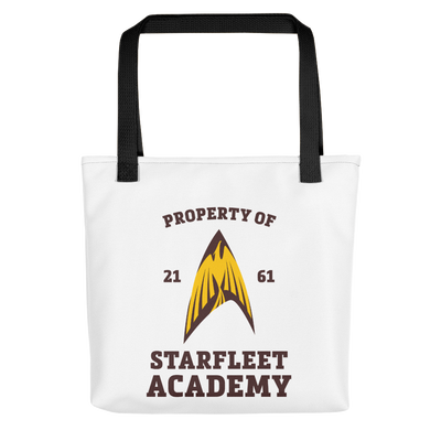 Star Trek Starfleet Academy Flying Phoenix Delta Canvas Tote Bag