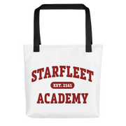 Star Trek Starfleet Academy EST. 2161 Canvas Tote Bag