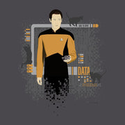 Star Trek: The Next Generation Data Cats Adult Short Sleeve T-Shirt