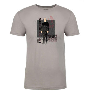 Star Trek: The Next Generation Picard Locutus Borg Adult Short Sleeve T-Shirt