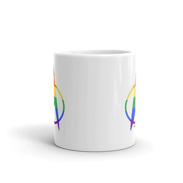 Star Trek: The Next Generation Pride Delta White Mug