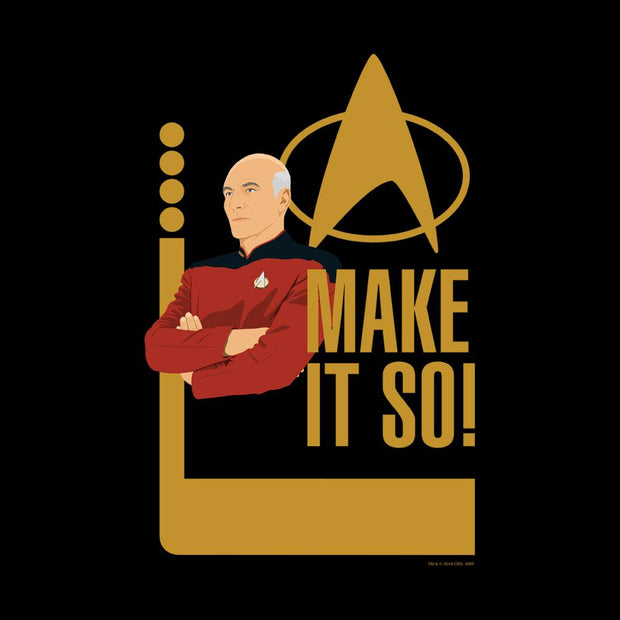 Star Trek: The Next Generation Picard Make It So Adult Short Sleeve T-Shirt