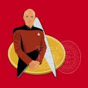 Star Trek: The Next Generation Picard Delta Adult Short Sleeve T-Shirt