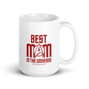 Star Trek: The Original Series Best Mom in the Universe White Mug