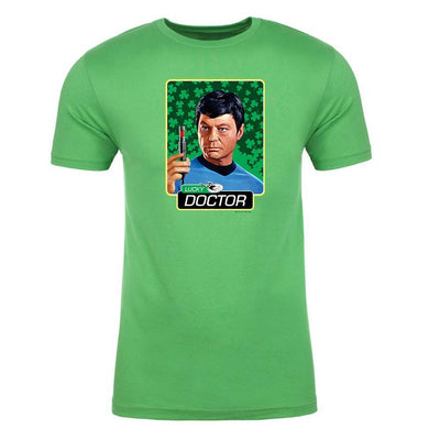 Star Trek: The Original Series Lucky Doctor Adult Short Sleeve T-Shirt Adult Short Sleeve T-Shirt