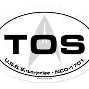 Star Trek: The Original Series Location Die Cut Sticker