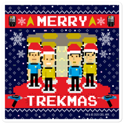 Star Trek: The Original Series Merry Trekmas Die Cut Sticker