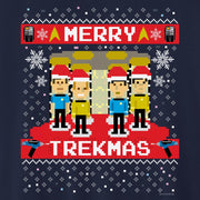 Star Trek: The Original Series Merry Trekmas  Fleece Crewneck Sweatshirt