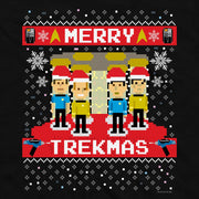 Star Trek: The Original Series Merry Trekmas Adult Short Sleeve T-Shirt