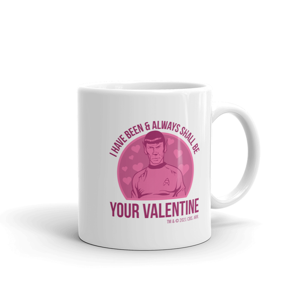 Star Trek: The Original Series Spock Valentine White Mug