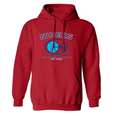 Star Trek: Deep Space Nine Nine Niners Baseball Fleece Hooded Sweatshirt