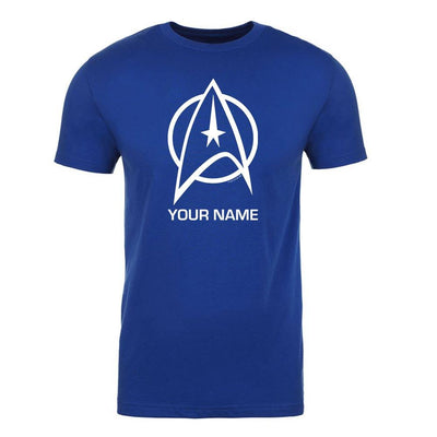 Star Trek: The Original Series Delta Personalized Adult Short Sleeve T-Shirt