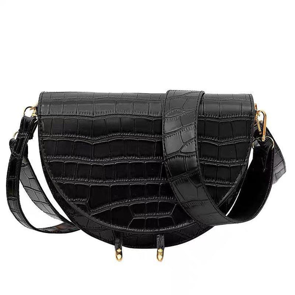 Half moon crossbody bag - CURATED by FS