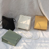 Plain boxy shoulder bag - CURATED by FS