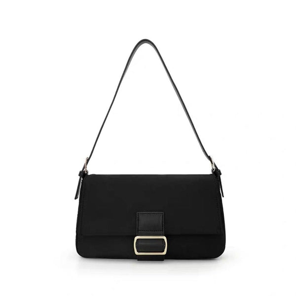 Nylon buckle shoulder bag - CURATED by FS