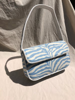 Zebra print shoulder bag (2 colors) - CURATED by FS