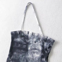 Tie dye single strap cami top (more colors)