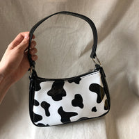 Mini patent cow print bag - CURATED by FS