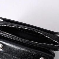 Hardware crossbody bag in black (more colors) - CURATED by FS