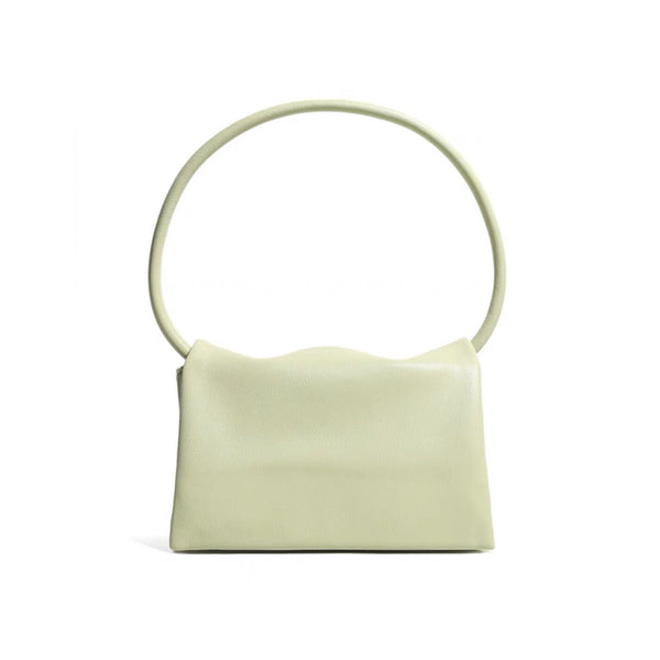 Mono shoulder bag in lime
