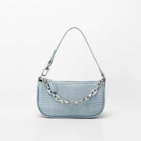 Mini 90s bag in baby blue - CURATED by FS