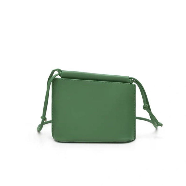 Envelope crossbody bag in green - CURATED by FS