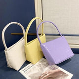 Croc effect tote bag (4 colors) - CURATED by FS