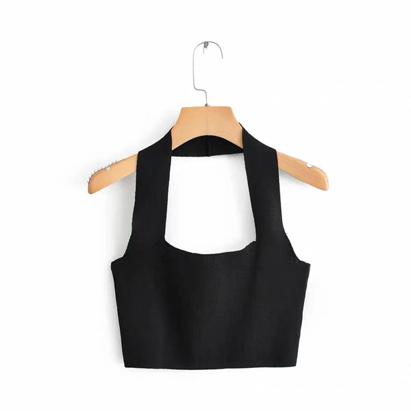 Halter neck crop top - CURATED by FS