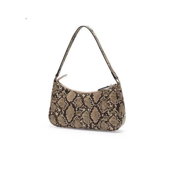 Snake skin effect 90s bag - CURATED by FS