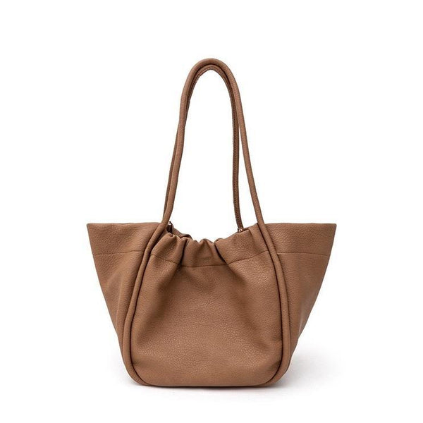 Dumpling shopper in brown - CURATED by FS