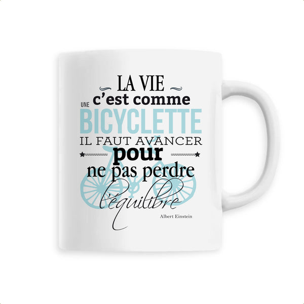 Mug - Citation Albert Einstein - Céramique Premium - 6 Coloris- Green Dressing - Mode Ethique