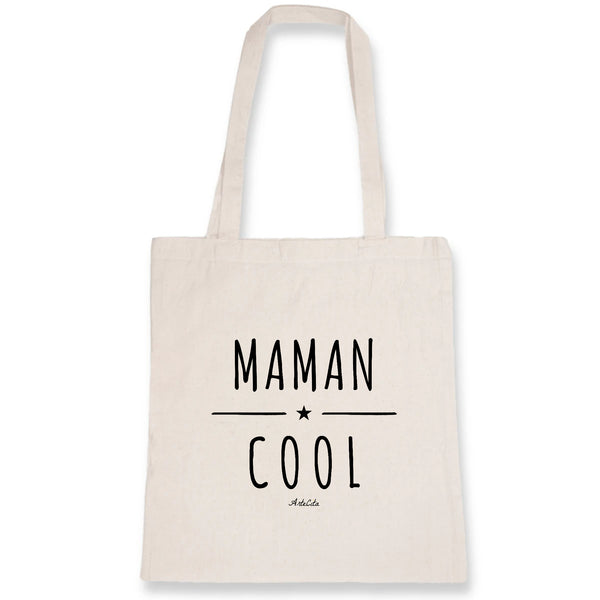 Tote Bag - Maman Cool - 100% Coton Bio- Green Dressing - Mode Ethique