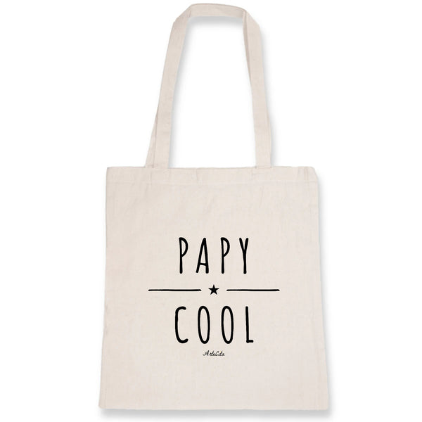 Tote Bag - Papy Cool - 100% Coton Bio- Green Dressing - Mode Ethique