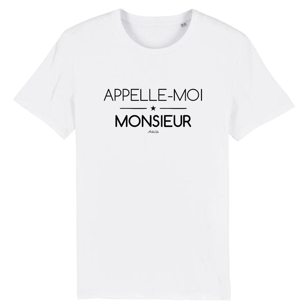 T-Shirt - Appelle-moi Monsieur - Coton Bio - 5 Coloris- Green Dressing - Mode Ethique
