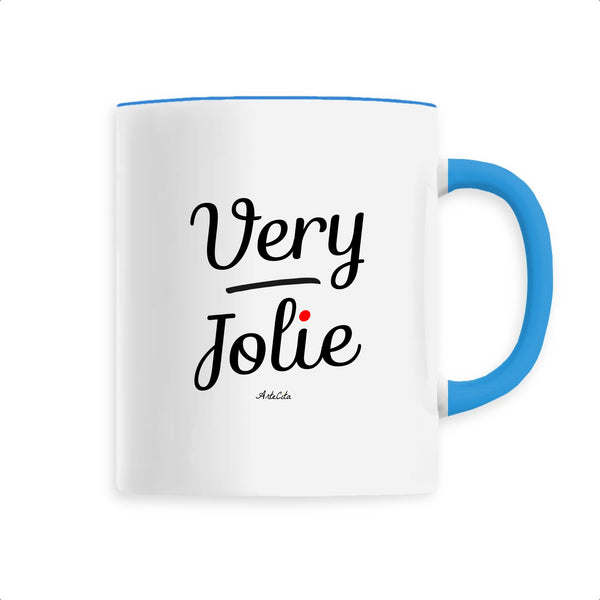 Mug - Very Jolie - Céramique Premium - 6 Coloris- Green Dressing - Mode Ethique