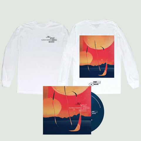White Longsleeve T-Shirt + CD + Digital Album