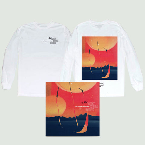 White Longsleeve T-Shirt + Digital Album
