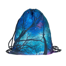 Load image into Gallery viewer, 3D Print Drawstring Backpack Rucksack Shoulder Bags Gym Bag Muti color