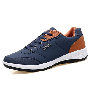 OZERSK Men Sneakers Fashion Men Casual Shoes Leather Breathable Man Shoes Lightweight Male Shoes Adult Tenis Zapatos Krasovki