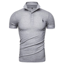 Load image into Gallery viewer, NEGIZBER New Man Polo Shirt Mens Casual Deer Embroidery Cotton Polo shirt Men Short Sleeve High Quantity polo men