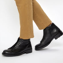 Load image into Gallery viewer, FLO P3560 Black Men Boots Oxide